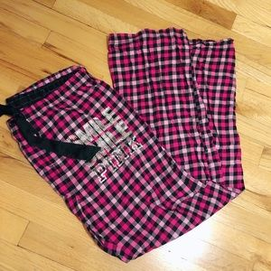 PINK Victoria's Secret sleep pants
